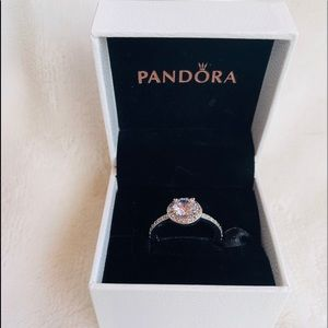 New Pandora Sparkle Halo Ring 💍